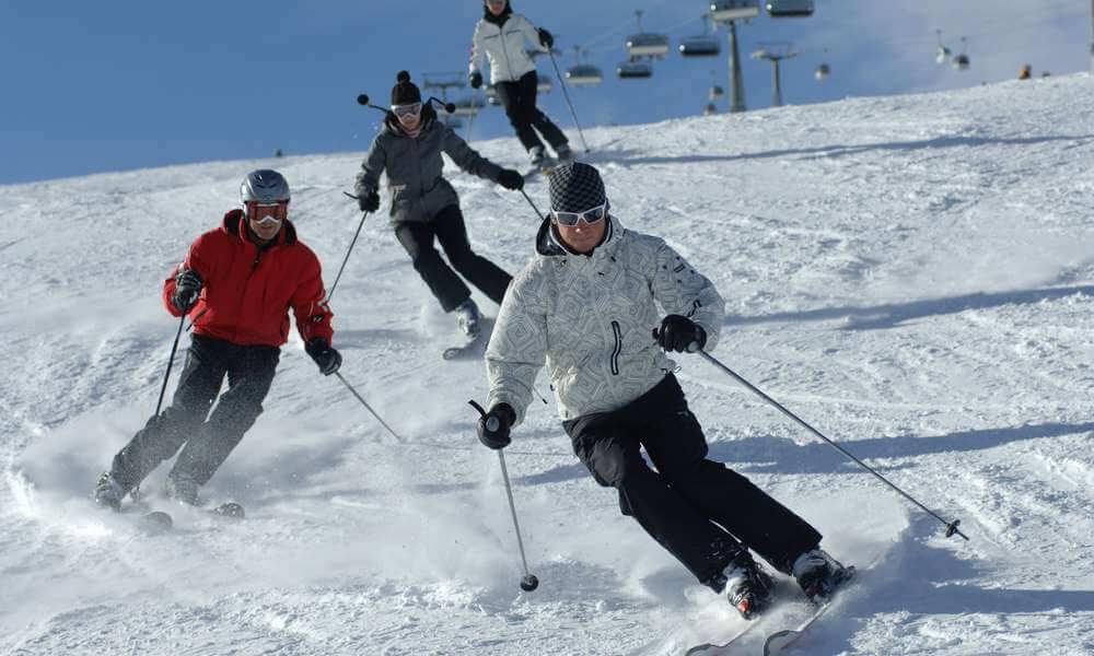 Pistenspaß im Skigebiet Kronplatz